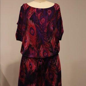 Dresses & Skirts - Silky short multicolor dress